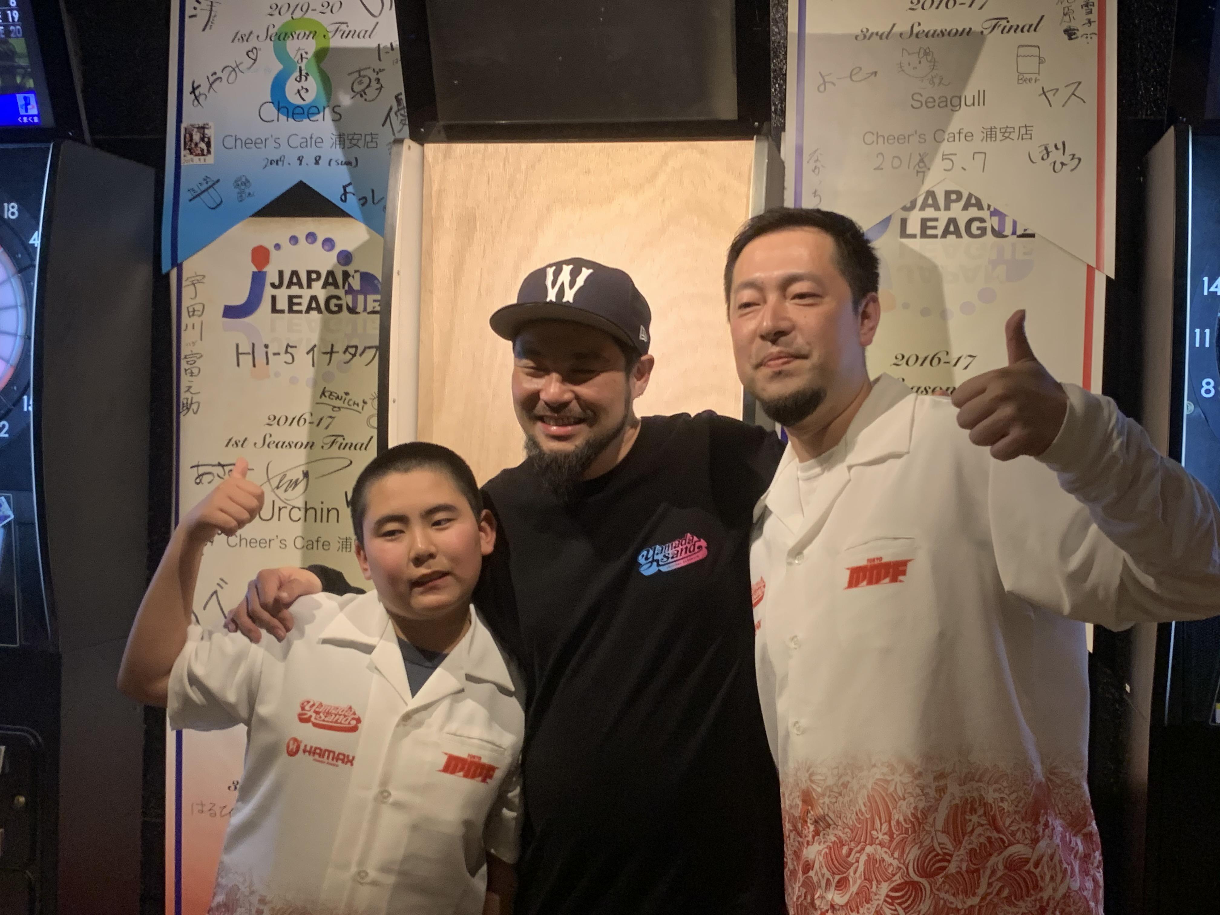 山田勇樹プロとイベント